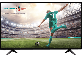 HISENSE H43A5600, 108 cm (43 Zoll), Full-HD, SMART TV, LED TV, 700 PCI, DVB-T2 HD, DVB-C, DVB-C2, DVB-S, DVB-S2