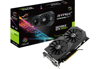ASUS GeForce® GTX 1050Ti ROG Strix OC 4GB Gaming( NVIDIA, Grafikkarte)