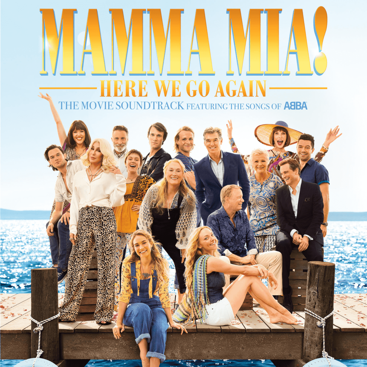 VARIOUS - Mamma Mia! Here We Go Again - (CD)
