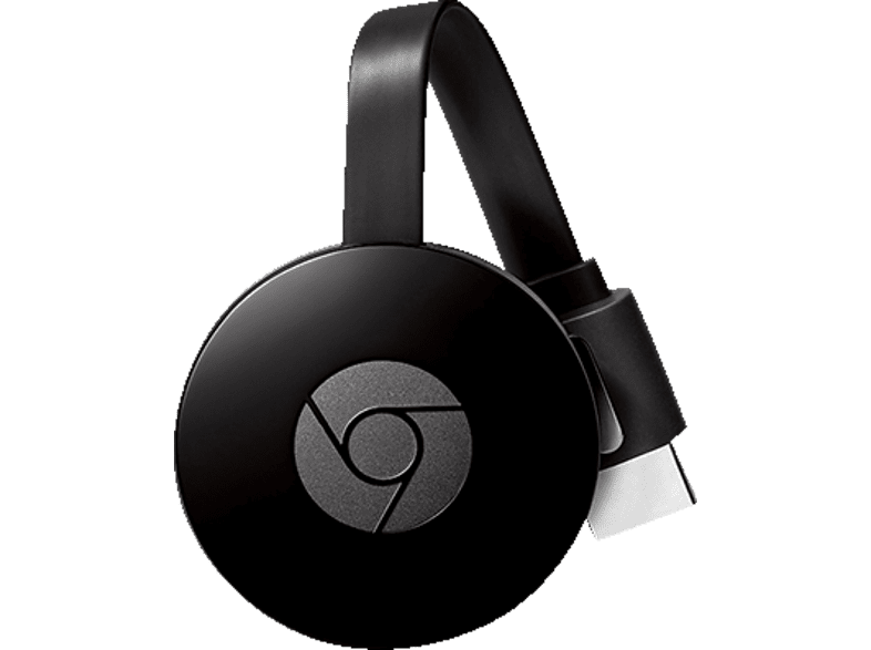 GOOGLE Chromecast 2. Generation Streaming Player, Schwarz
