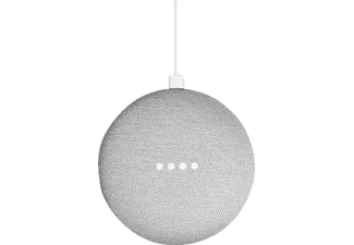 GOOGLE Home Mini Smart Speaker mit Sprachsteuerung, Kreide