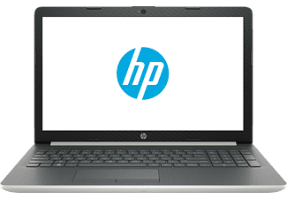 HP 15-DA0315NG, Notebook mit 15.6 Zoll Display, Core™ i5 Prozessor, 16 GB RAM, 1 TB HDD, 256 GB SSD, GeForce® MX110, Natural Silver/Ash Silver