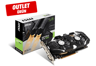 MSI Geforce GTX 1060 6GB 192Bit GDDR5 DX 12 PCI-E 3.0  GTX 1060 6GT OCV Ekran Kartı Outlet