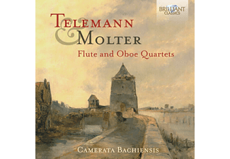 Camerata Bachienis - Flute And Oboe Quartets - (CD)