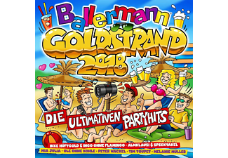 VARIOUS - Ballermann Goldstrand 2018 Die Ultimativen Partyhi - (CD)