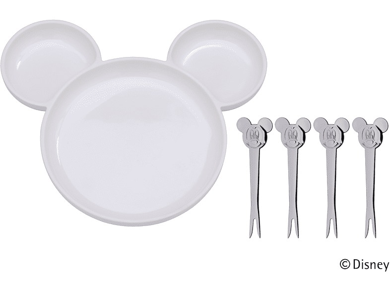 WMF 12.9642.9080 Mickey Mouse 5-tlg. Ess-Set