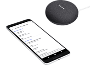 GOOGLE Home Mini Smart Speaker mit Sprachsteuerung, Karbon