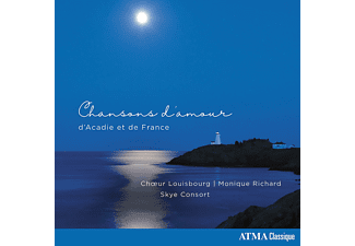 Monique Richard, Choeur Louisbourg, Skye Consort - Love Songs From Acadia And France - (CD)