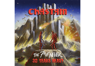 Chastain - THE 7TH OF NEVER 30 YEARS HEAVY (BLACK VINYL) - (Vinyl)