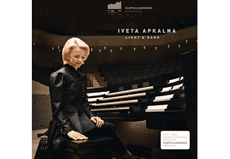 Iveta Apkalna - Light And Dark (Elbphilharmonie Orgel) - (Vinyl)