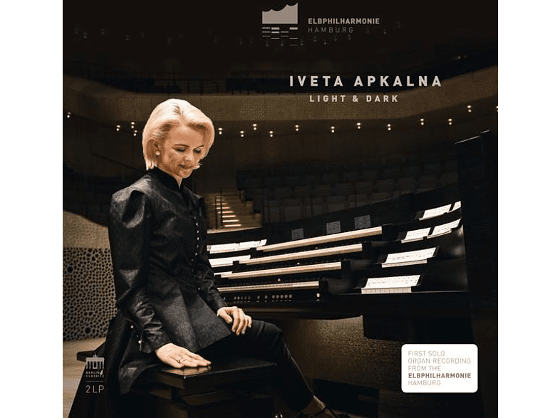 Iveta Apkalna - Light And Dark (Elbphilharmonie Orgel) [Vinyl]