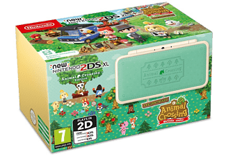 NINTENDO New 2DS XL Wit & Turquoise + Animal Crossing (2209966)
