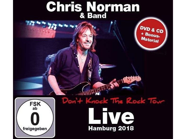Chris Norman - Don't Knock The Rock Tour 2018 - Live in Hamburg [CD + DVD Video]