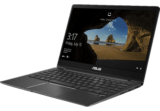ASUS ZenBook 13, Notebook mit 13.3 Zoll Display, Core™ i7 Prozessor, 8 GB RAM, 256 GB SSD, GeForce MX150, Slate Grey