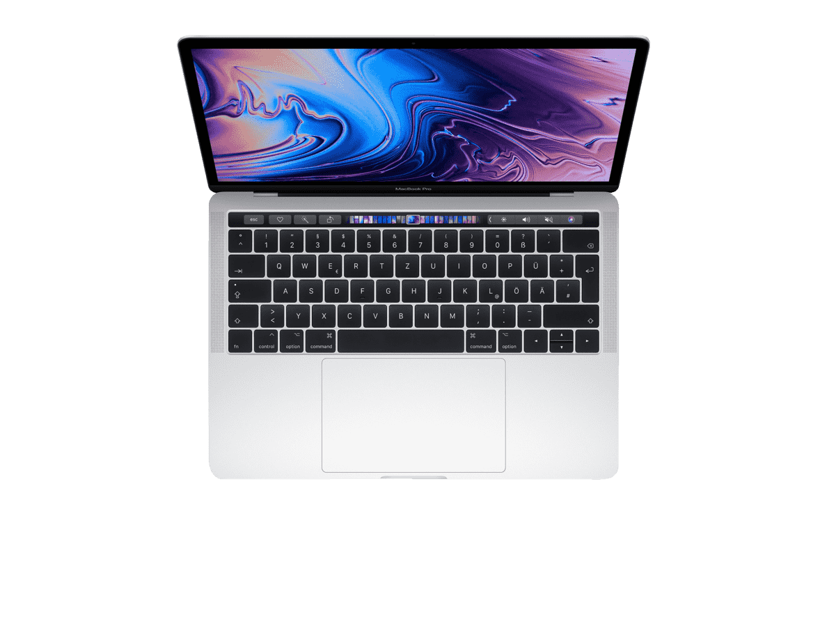 APPLE  MacBook Pro MR9U2D/A-139547 mit französischer Tastatur Notebook mit Core i7, RAM, 1 TB & Intel® Iris™ Plus-Grafik 655 in Silber | 04005922652678