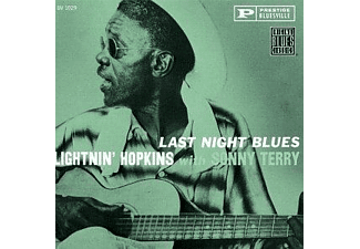 Lightnin' Hopkins, Sonny Terry - Last Night Blues - (CD)