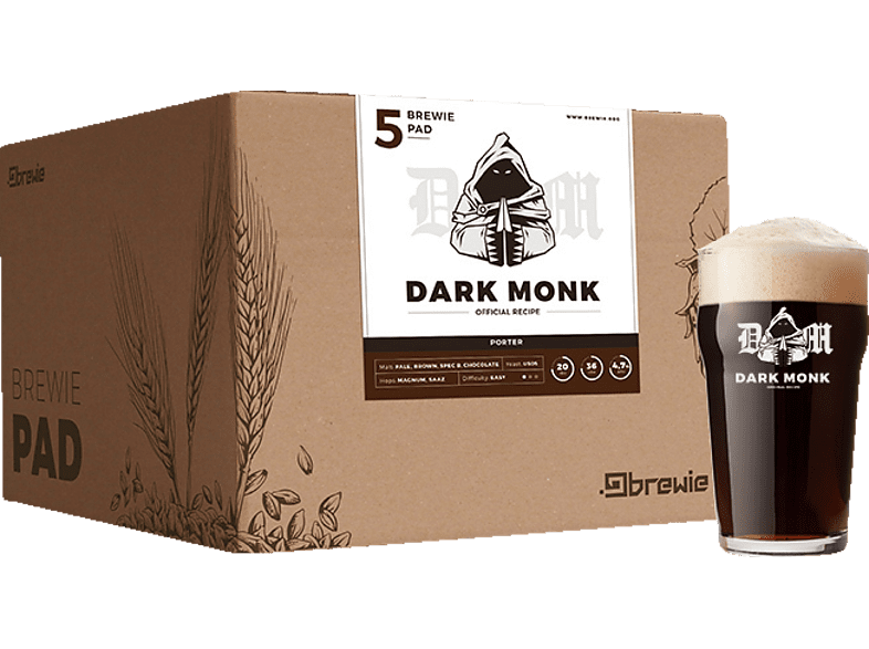 BREWIE  BRW-204 Dark Monk Bierbrau-Kit | 05999567212047