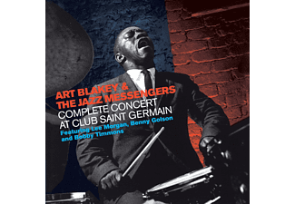 Art Blakey and the Jazz Messengers - COMPLETE CONCERT AT CLUB SAINT GERMAIN - (CD)