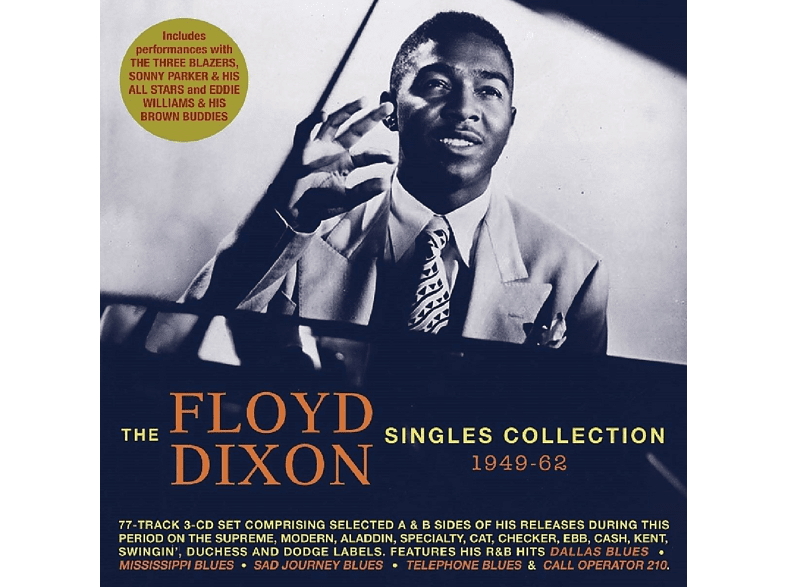 Floyd Dixon - The Floyd Dixon Collection: 1949-1962 [CD]