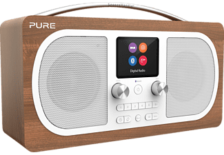 PURE 151071 Evoke H6, Digitalradio, Walnuss