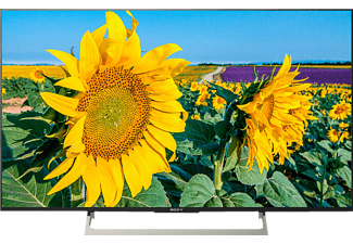 "TV LED 43"" - Sony KD43XF8096BAEP, Ultra HD 4K HDR, Android TV, Triluminos, 400 Hz, X-reality PRO"