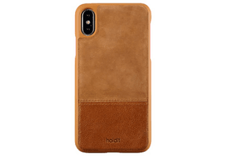 HOLDIT Cover Leather / Suede iPhone X Brun (613437)