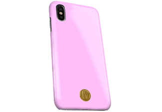 HOLDIT Cover Bubble Pink Silk iPhone X Roze (613424)