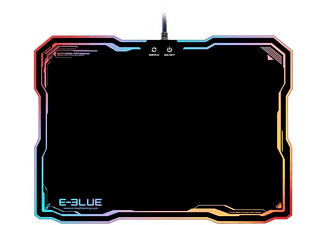 E-BLUE Tapis de souris gamer RGB (EMP013BKAA-IU)