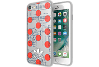 ADIDAS 28494 Backcover Apple iPhone 6/6S/7/8 50% Thermoplastisches Polyurethan, 50% Polycarbonat Transparent/Mehrfarbig