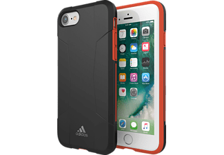 ADIDAS SPORT 29557 Handyhülle, Apple iPhone 6/6S/7/8, Schwarz