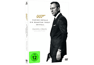 Daniel Craig Collection: James Bond - Casino Royale, Ein Quantum Trost, Skyfall, Spectre - (DVD)