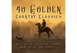 VARIOUS - 40 GOLDEN COUNTRY CLASSICS - (CD)