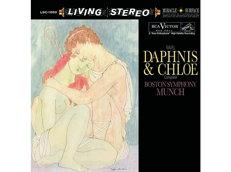 Boston Symphony Orchestra - Daphnis And Chloe [CD]