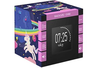 BIGBEN Wekkerradio met projector Unicorn (RR70PUNICORN)