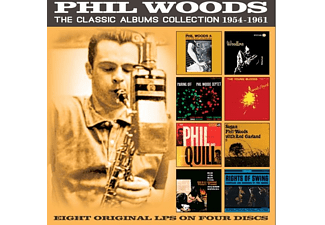 Phil Woods - The Classic Albums Collection: 1954-1961 - (CD)