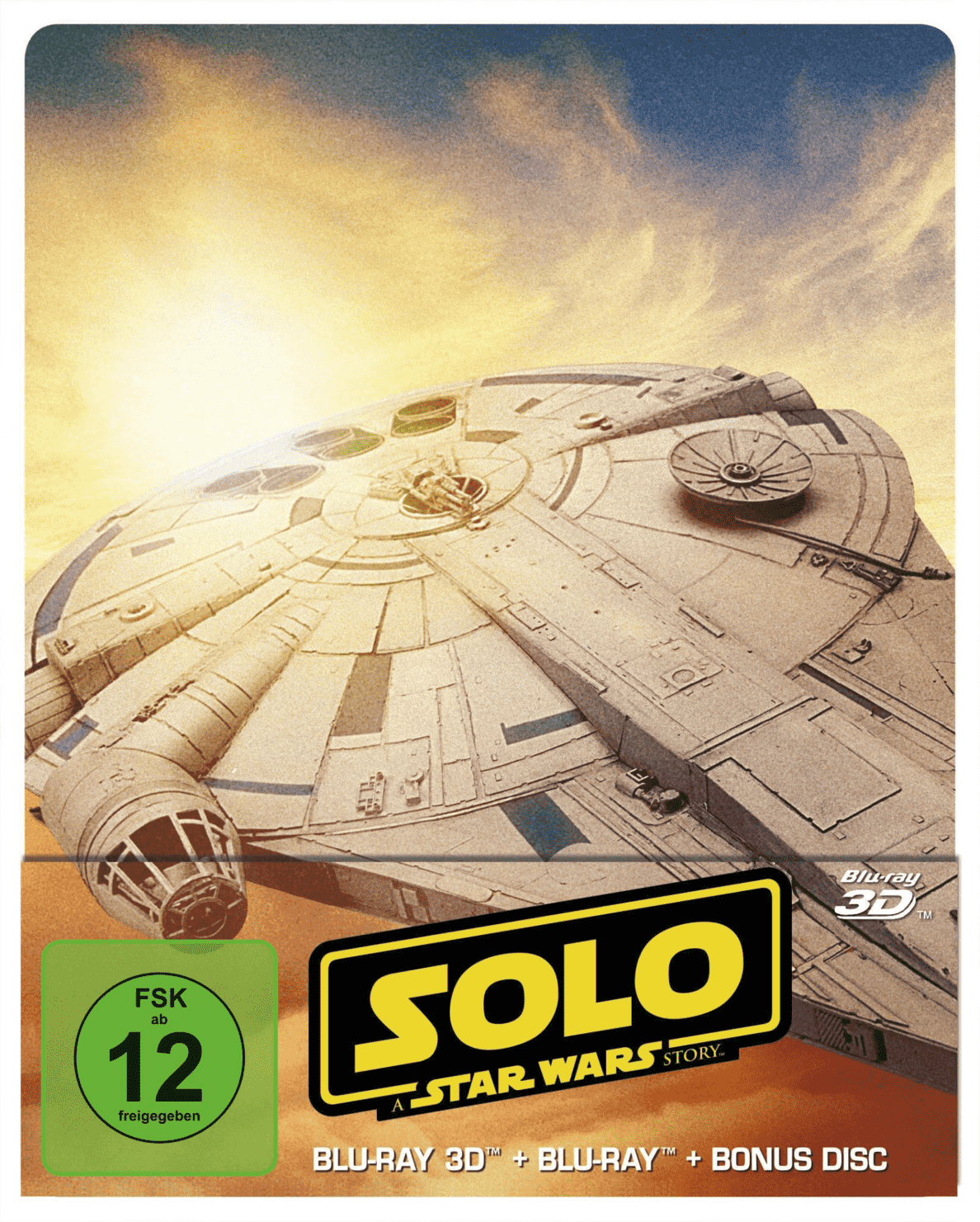 Solo: A Star Wars Story 3D Steelbook [3D Blu-ray] [Limited Edition]