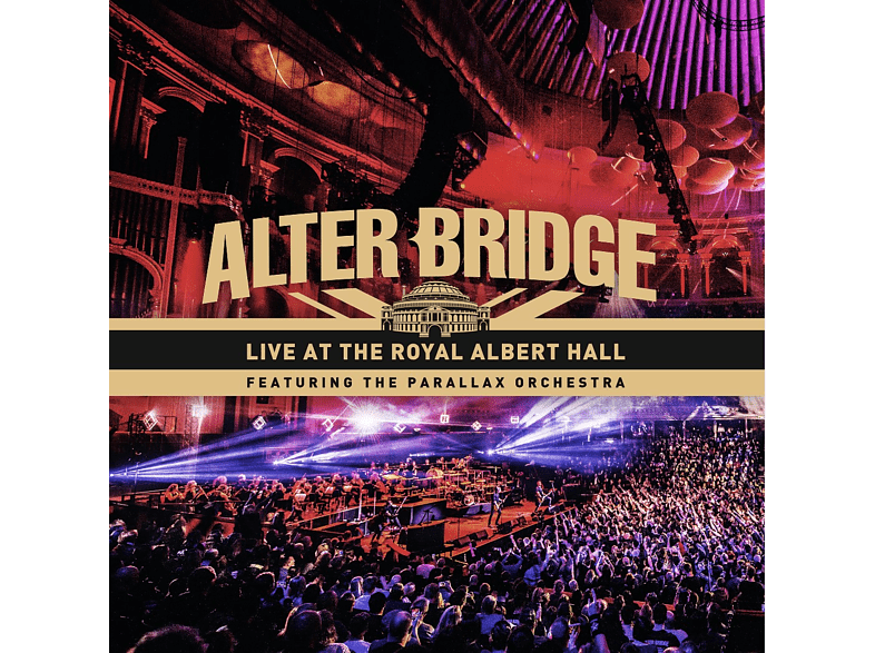 Alter Bridge - Live At The Royal Albert Hall feat. The Parallax Orchestra [CD + Blu-ray + DVD]