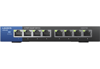 LINKSYS Switch Business Gigabit 8 ports (LGS108-EU-RTL )