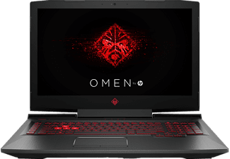HP OMEN 17-AN134NG, Gaming Notebook mit 17.3 Zoll Display, Core™ i7 Prozessor, 16 GB RAM, 1 TB HDD, 256 GB SSD, GeForce GTX 1060, Schwarz