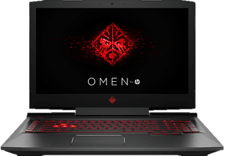 HP OMEN 17-AN132NG, Gaming Notebook mit 17.3 Zoll Display, Core™ i5 Prozessor, 8 GB RAM, 1 TB HDD, 128 GB SSD, GeForce GTX 1060, Schwarz