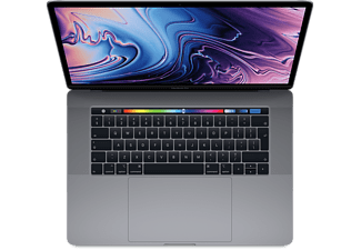 APPLE MacBook Pro 15 Touch Bar (Mid 2018) Intel Core i7-8850H / 16GΒ / 512GB / Space Gray - MR942GR/A