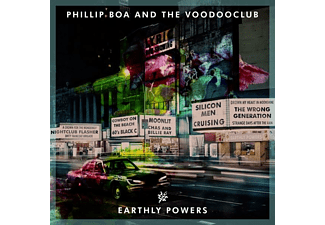 Phillip & The Voodooclub Boa - Earthly Powers - (LP + Download)