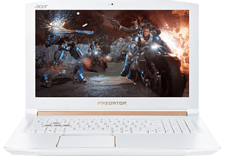 ACER Predator Helios 300 (PH315-51-76RQ), Gaming Notebook, Core™ i7 Prozessor, 16 GB RAM, 256 GB SSD, 1000 GB HDD, GeForce® GTX 1060, Weiß/Gold