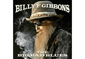 Billy F Gibbons - The Big Bad Blues (Translucent Blue Vinyl) - (Vinyl)