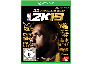 NBA 2K19 (20th Anniversary Edition) - Xbox One