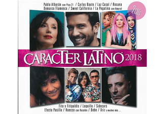 VARIOUS - Caracter Latino 2018 - (CD)