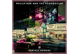 Phillip & The Voodooclub Boa - Earthly Powers (Deluxe Edition) - (CD + DVD Video)