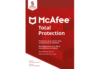 Total Protection 2018 - 1 an / 5 appareils FR/NL