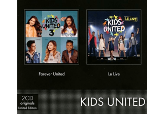 Kids United - Coffret 2 CD (Forever United & Le Live) - (CD + DVD)