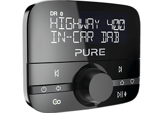 PURE Highway 400 DAB+, DAB-Audioadapter, Schwarz